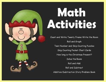Polar Express Literacy and Math Unit