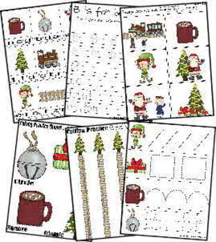 Polar Express Literature Based Learning Pack (Pre/K/1st)