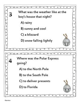Polar Express Literature Scoot