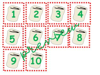Polar Express-Marshmallow Math Addition