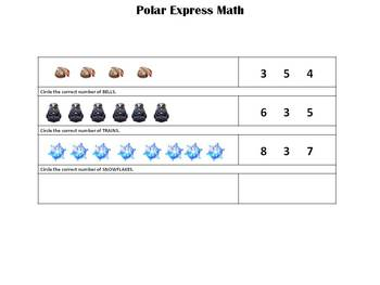 Polar Express Math - Counting