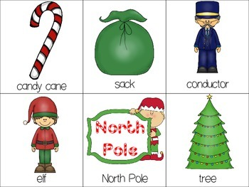 Polar Express Math & Literacy Activities