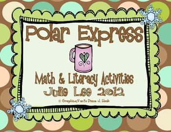 Polar Express Math & Literacy Centers
