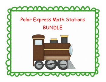 Polar Express Math Stations BUNDLE