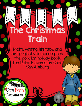 Christmas Train Math, Writing, Literacy and Art