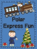 Polar Express (Math and Literacy Activities for a Polar Express Party)