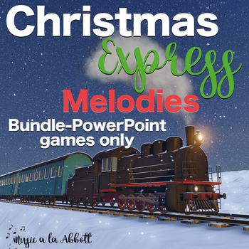Christmas Music Express Melodies Bundle, PowerPoint Games only