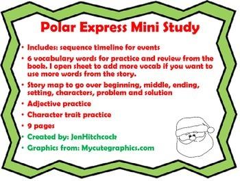 Polar Express Mini Lesson