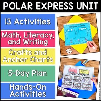 Polar Express Mini Unit! Math, Literacy, and Writing Activities!