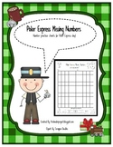 Polar Express Missing Numbers - 1-100 Number Practice Sheets