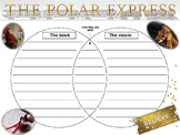 Polar Express Movie/Book Compare and Contrast Venn Diagram