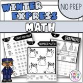 Winter Express No Prep - Math