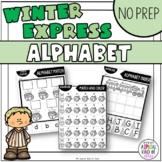 Winter Express No Prep Alphabet