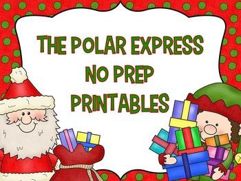 Polar Express No Prep Printables