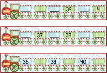 North Pole Number Patterns: 1s to and from 50