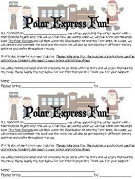 Polar Express Pajama Party Pack!