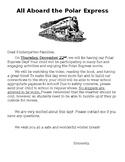 Polar Express Parent Letter