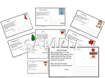 Polar Express Post Cards