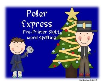 Polar Express Pre-Primer Spelling