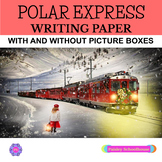 Polar Express Primary Writing Paper: With Picture Box & Without