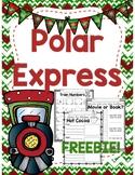 Polar Express Printables -- FREEBIE