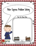Polar Express Problem Solving - Simple Math Word Problems for Polar Express Day