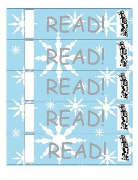 "Polar Express ""READ"" Bookmarks (Printable & Craft Version) FREE!"