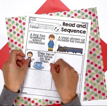 Polar Express Reader Response, December, CCSS Aligned, Sub Plans,