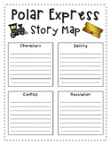 Polar Express Reading Activity Story Map