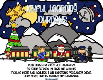 Polar Express Reading Focus Wall Resources