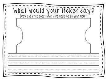 Polar Express (Reading and Writing) Graphic Organizers