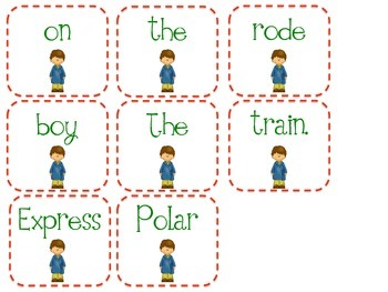Polar Express Sentence Scramble