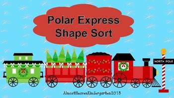 Polar Express Shape Sort - 2D and 3D Shapes