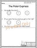 Polar Express Story Reponse Sheet - Opinion Writing
