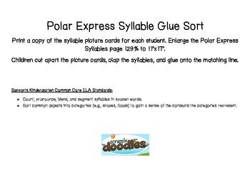 Polar Express Syllable Practice