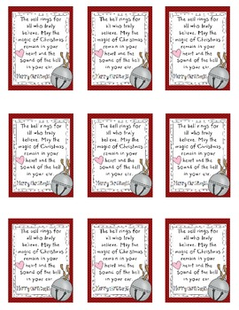 Polar Express Tag {To Give With Bells}