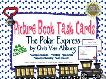 Picture Book Task Cards: The Polar Express