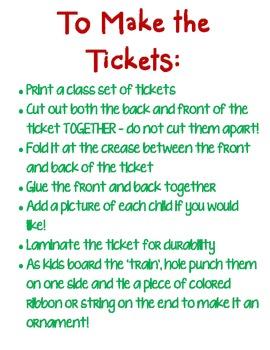 Polar Express Ticket {FREEBIE}