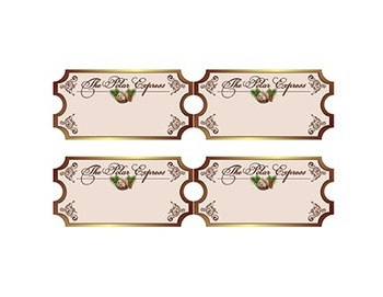 Polar Express Ticket Nametags - 4 Different Designs!