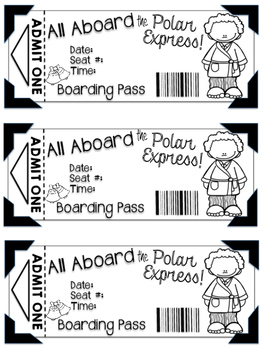 graphic about Printable Polar Express Ticket named Polar Convey Tickets Printable Worksheets Academics Pay back