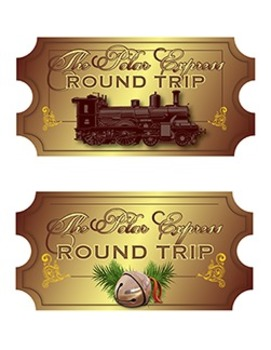 Polar Express Tickets - 7 Different Designs!