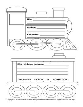 Polar Express Train Book Report
