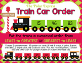 Polar Express Train Car Number Order: Least to Greatest OR Greatest to Least