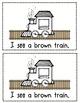 Polar Express Train Colors