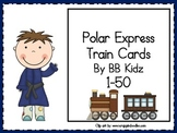 Train Counting Cards 1-50/ Addition/ Subtraction/ Christmas