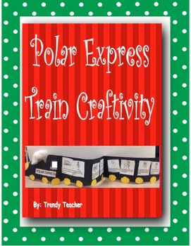 Polar Express Train Craftivity