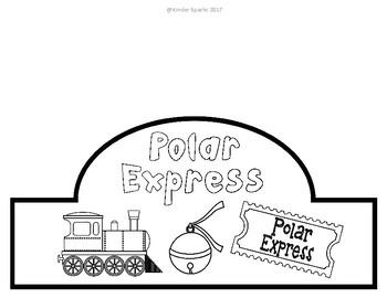 Polar Express Train Hat