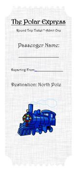 Polar Express Train Ticket