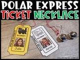 Polar Express Train Ticket [Editable pictures & Names]
