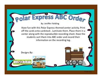 Polar Express Unit (Literacy and Math)
